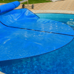 The solar pool covers can add months to your pool season